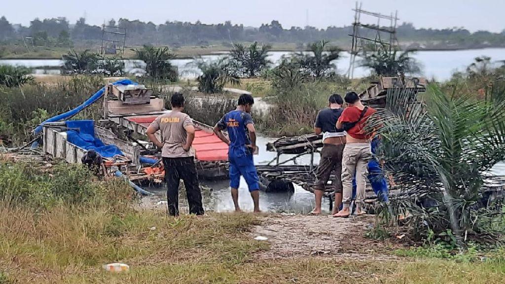 Polisi Tangkap 4 Penambang Pasir Timah Ilegal di Babel