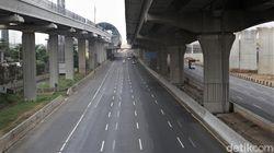 Pantas Sepi, Kendaraan di Jalan Tol Turun 40%