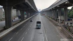 Lalin Keluar-Masuk Jabodetabek Via Tol Turun 40% Selama PPKM Darurat