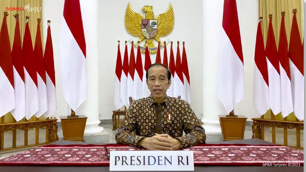 Jokowi: Waspada Kemungkinan Varian COVID-19 Lain yang Lebih Menular