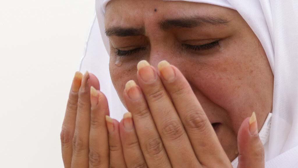 Foto: Tangis Jemaah Haji di Tengah Pandemi