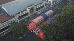 Tenda darurat yang menjadi triase pasien COVID-19 di halaman RSUD Kota Bekasi akan dibongkar oleh pemerintah setempat. Waduh, kenapa?