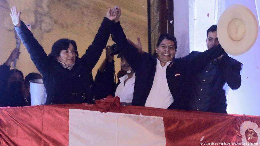 Pedro Castillo Dilantik Jadi Presiden Peru