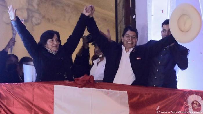 Tolak Gugatan Fujimori, Dewan Pemilu Peru Tetapkan Pedro Castillo Sebagai Presiden Baru