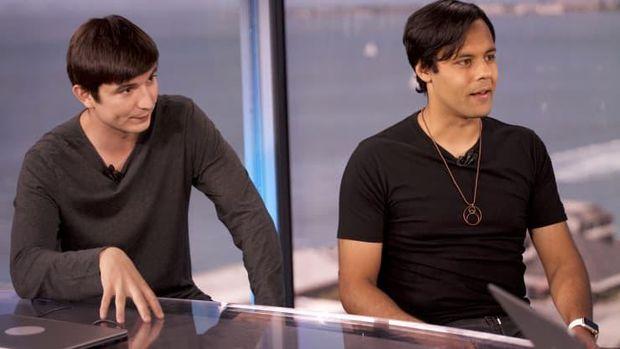 Vlad Tenev dan Baiju Bhatt,  co-founder Robinhood.