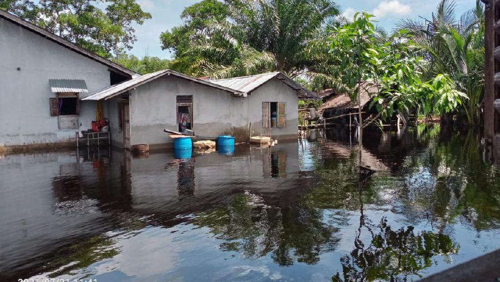 Sudah Sepekan, Banjir di Mempawah Kalbar Belum Juga Surut