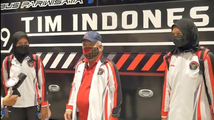Basuki Hadimuljono berpesan untuk dua pedayung Indonesia di Olimpiade Tokyo 2020.
