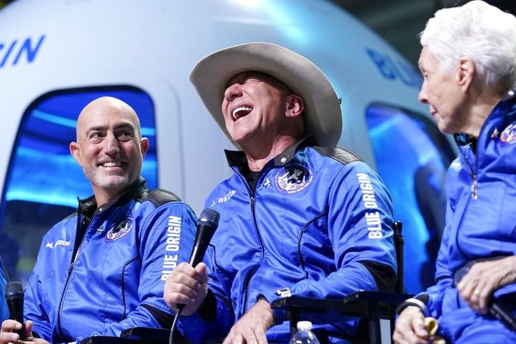 Blue Origin Jeff Bezos