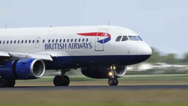 Kriteria dalam mendaftar maskapai terbaik di antaranya usia armada dan ulasan penumpang. Di urutan ke-10 ada British Airways dari Inggris. (Getty Images/Sjo)