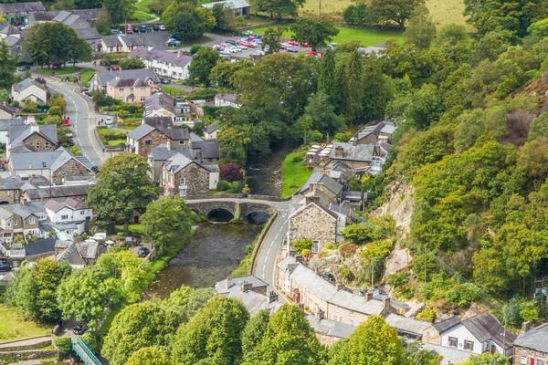 Beddgelert merupakan desa subur nan hijau di Snowdonia, Gwynedd, Wales.(Getty Images)