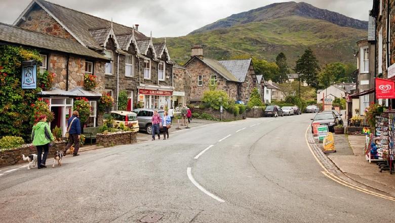 Desa Beddgelert di Wales