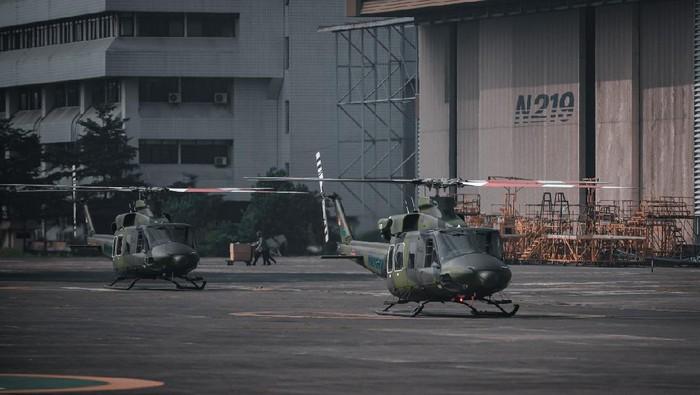 Helikopter Bell pesanan Kementerian Pertahanan