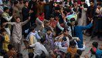 Pesta Warga Kabul Peringati Idul Adha, Walau Ada Ancaman Serangan Roket