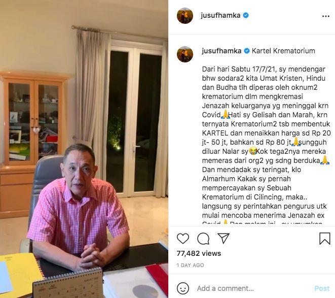 Instagram @JusufHamka