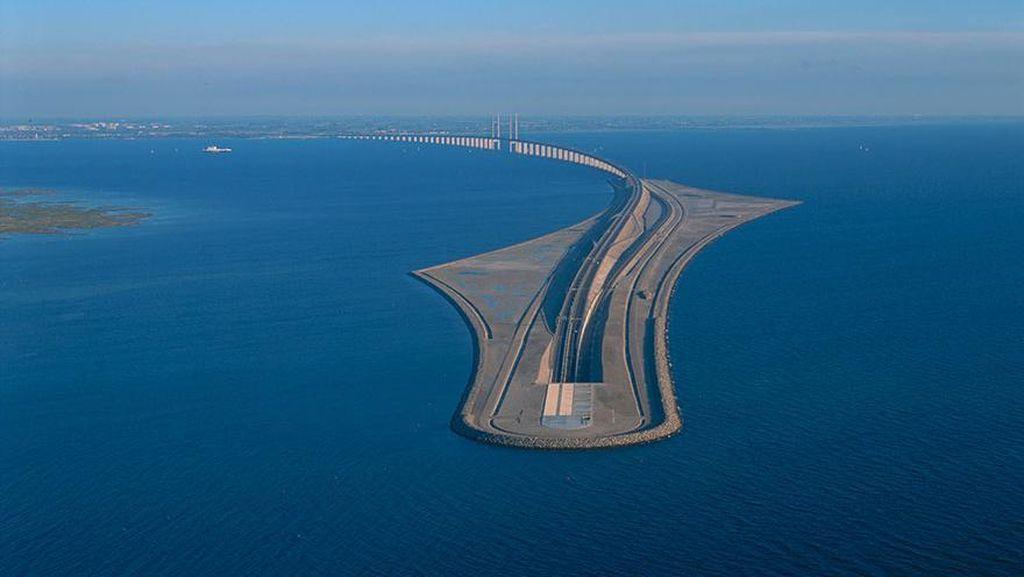 Kisah Jalan Menghilang di Tengah Laut Denmark
