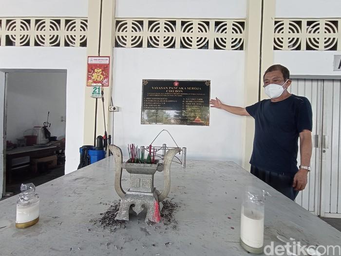 Ketua Yayasan Pancaka Seroja Ramlan Pandapotan. (Sudirman Wamad)