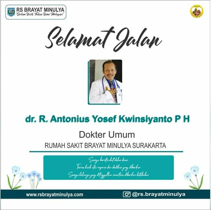 Lelayu dr RAY Kwinsiyanto Probo, Solo