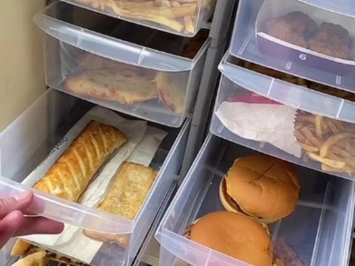 Makanan Siap Saji Disimpan 2 Tahun untuk Penelitian