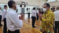 Momen Apel Belasan Pegawai KPK Jelang Diklat Bela Negara