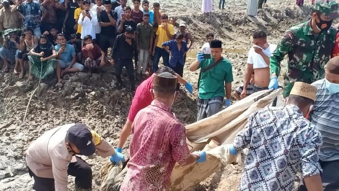 Penemuan mayat dalam karung di Aceh Timur (dok. Polisi)