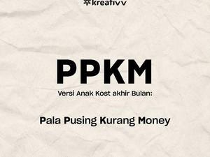 8 Singkatan Lucu PPKM ala Netizen Indonesia, Bikin Senyum-senyum Sendiri
