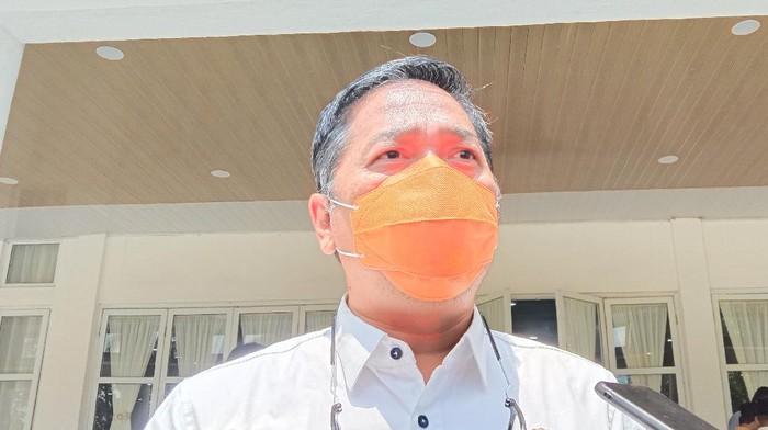 Plt Kadis Kesehatan Sumut, Aris Yudhariansyah (Arfah-detikcom)