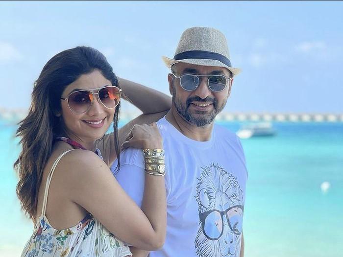 Raj Kundra dan Shilpa Shetty.