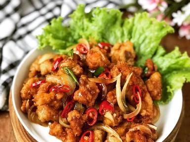 Resep Pembaca : Ayam Goreng Saus Gohiong yang Renyah Wangi