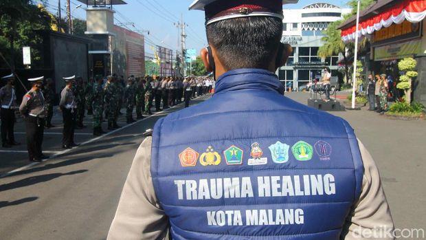 Satgas trauma healing