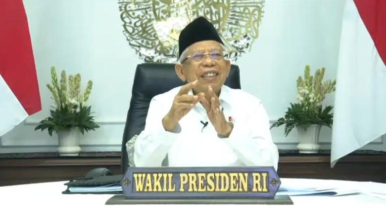 Wapres KH Maruf Amin, Blak-blakan 19 Juli 2021