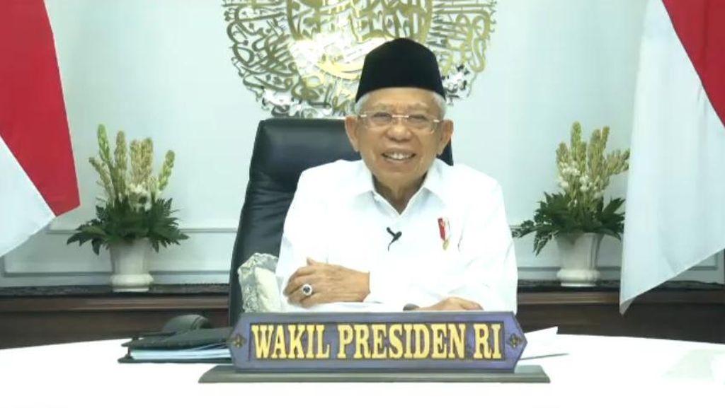 Doa Wapres Maruf Amin Selama Hadapi Pandemi Covid-19