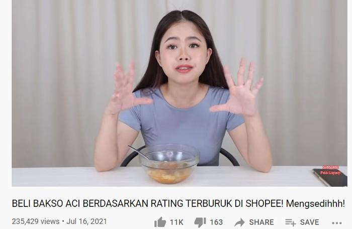YouTuber Review Baso Aci dengan Rating Terburuk