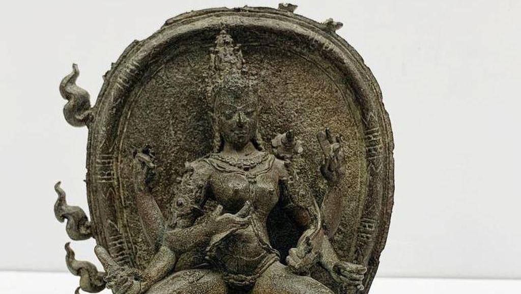 3 Artefak yang Diselundupkan ke Amerika Dikembalikan ke Indonesia