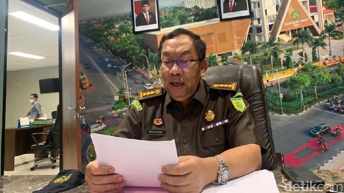Asisten Intelijen Kejaksaan Tinggi Riau, Raharjo (Raja Adil/detikcom)
