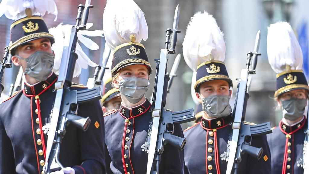 Perayaan Kemerdekaan Belgia di Tengah Pandemi Covid-19