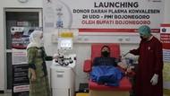 Penyintas di Bojonegoro Yuk Donor! PMI Kini Punya Mesin Plasma Konvalesen
