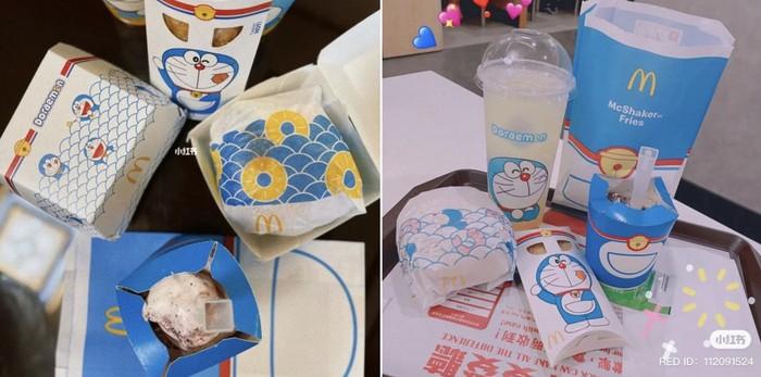 Bukan BTS Meal, Ini Doraemon Meals McD yang Menggemaskan