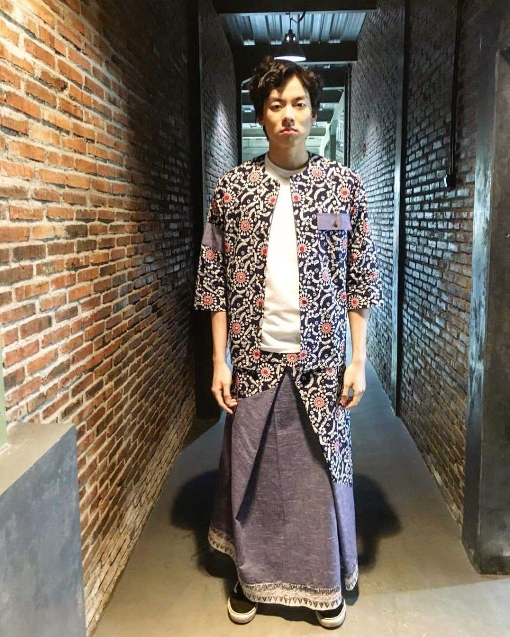 Celana dan Outer Batik
