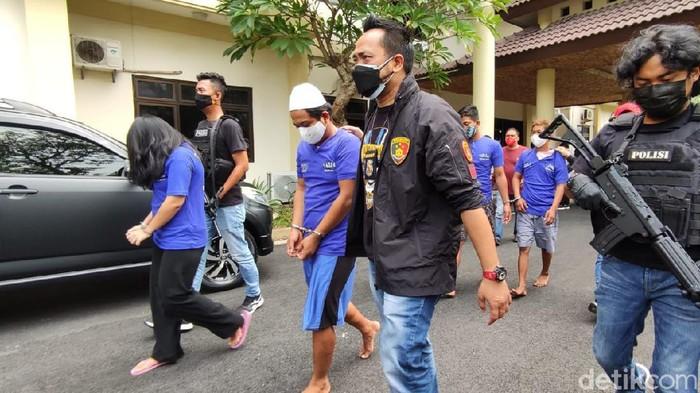 Dua komplotan perampok pelaku penyekapan dan membuang korban di kawasan Tembalang,Semarang