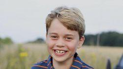 Gaya Sederhana Pangeran George Ultah ke-8, Pakai Baju Rp 198 Ribu