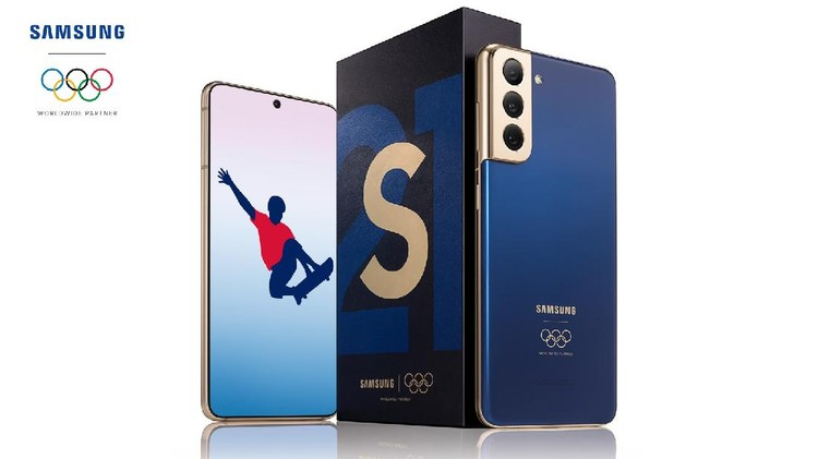 Galaxy S21 edisi Olimpiade Tokyo