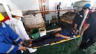 Kapal Isoman Pasien COVID Makassar Gelar Simulasi Evakuasi Keadaan Darurat