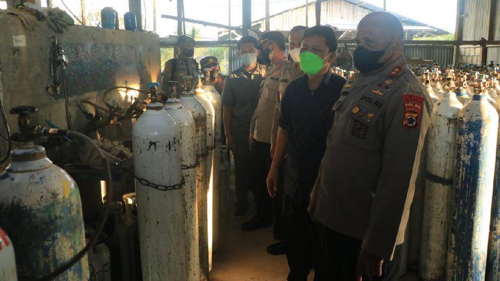 Krisis Oksigen Sejumlah RS di Jayapura, Kapolda Papua Cek Pendistribusian