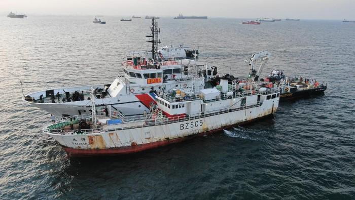 Kemenhub Evakuasi Jenazah WNI ABK Kapal China
