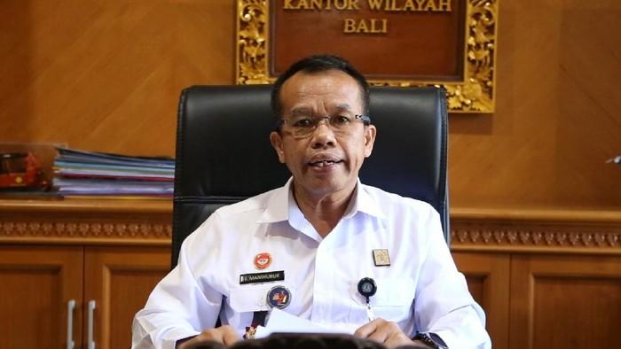 Kepala Kantor Wilayah Kementerian Hukum dan Hak Asasi Manusia (Kanwil Kemenkumham) Bali Jamaruli Manihuruk