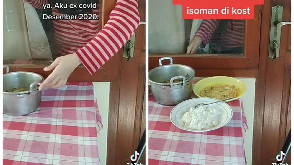 Kisah Isoman Anak Kos yang Harus Ambil Makanan Lewat Celah Jendela