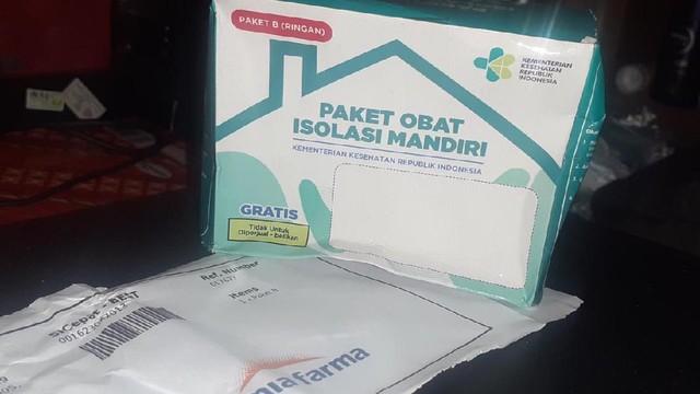 Paket Obat Isoman Gratis