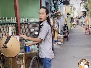 Viral Mas-mas Penjual Jamu Rambutnya bak Aktor Laga China, Bikin Salfok