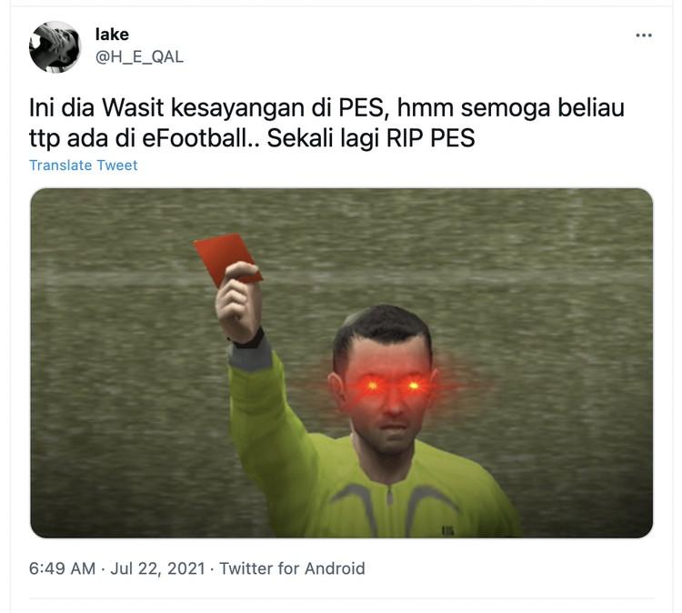 PES Ganti eFootball
