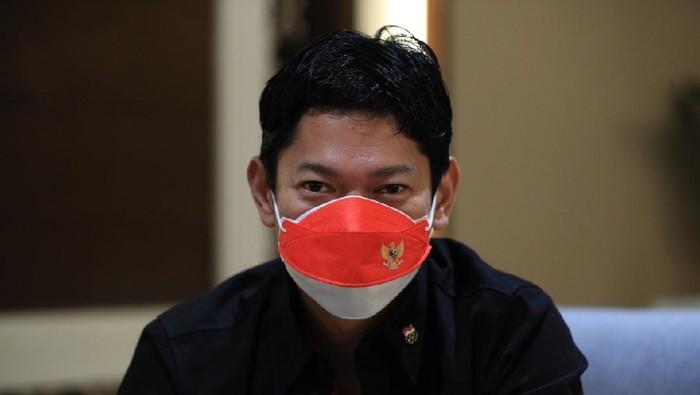 Ketua Komite Olimpiade Indonesia, Raja Sapta Oktohari, meminta dukungan untuk atlet Indonesia di Olimpiade Tokyo 2020 lewat medos.